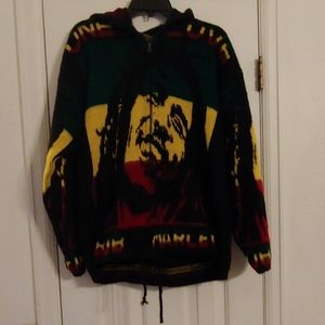 Bob Marley sweater jacket